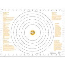 PASTRY MAT - GOLD