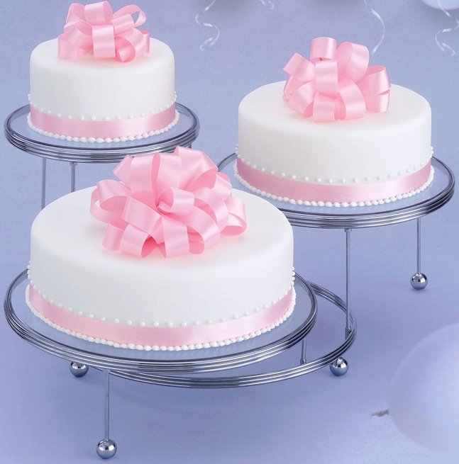 Cakes N More 3 Tiered Party Stand