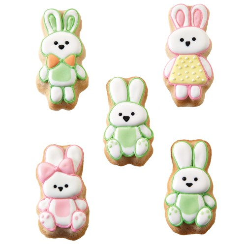 Cookie Pan Bunny Family