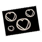 FMM Heart Cutter - 4 piece