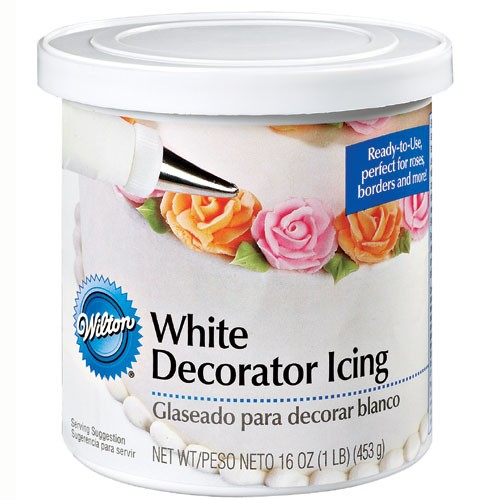 Ready-To-Use Decorator Icing White - 1 lb. Can