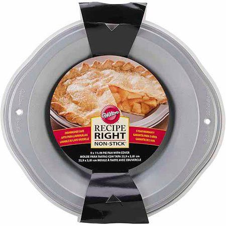 Recipe Right Covered Pie Pan-9""