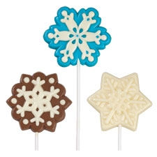 Snowflake Large Lollipop Mold