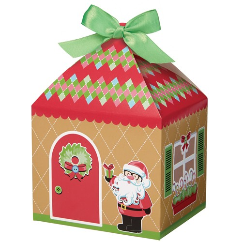 Sweet Holiday Sharing Tent Treat Boxes pk/4